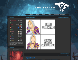 thefallen-guild.com screenshot