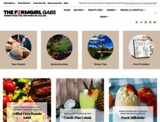 thefarmgirlgabs.com screenshot