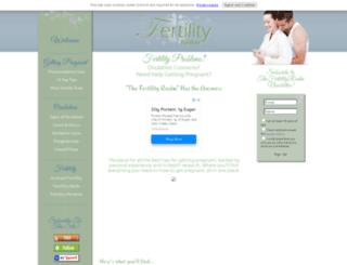 thefertilityrealm.com screenshot