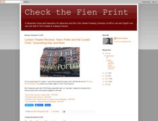 thefienprint.com screenshot
