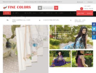 thefinecolors.com screenshot