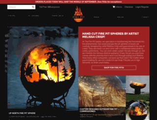 thefirepitgallery.com screenshot