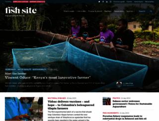 thefishsite.com screenshot