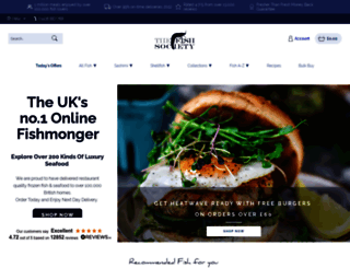 thefishsociety.co.uk screenshot