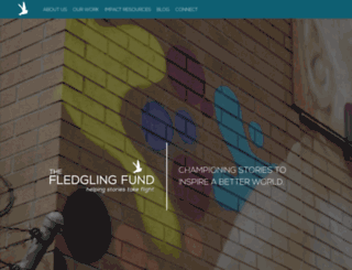 thefledglingfund.org screenshot