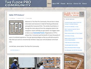 thefloorpro.com screenshot