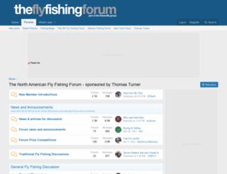 theflyfishingforum.com screenshot