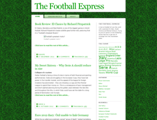 thefootballexpress.co.uk screenshot
