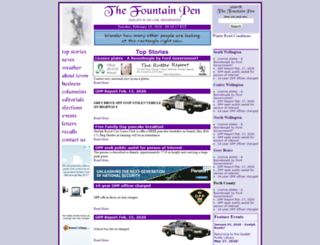 thefountainpen.com screenshot