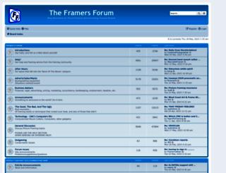 theframersforum.com screenshot