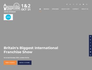 thefranchiseshow.co.uk screenshot