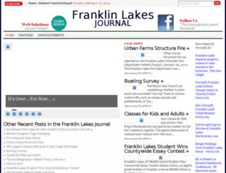 thefranklinlakesjournal.com screenshot