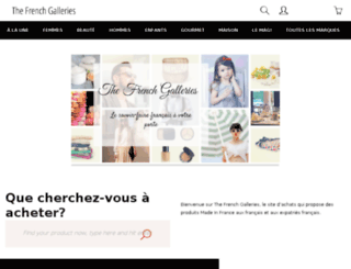 thefrenchgalleries.com screenshot