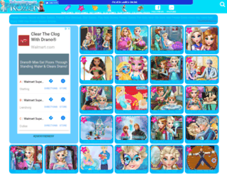 thefrozengames.com screenshot