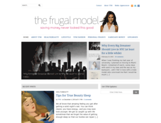 thefrugalmodel.com screenshot