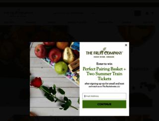 thefruitcompany.com screenshot