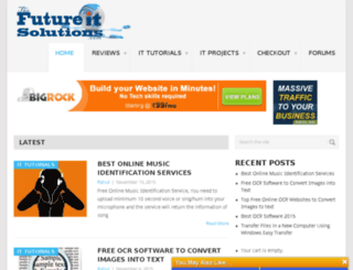 thefutureitsolutions.com screenshot