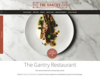 thegantry.com.au screenshot