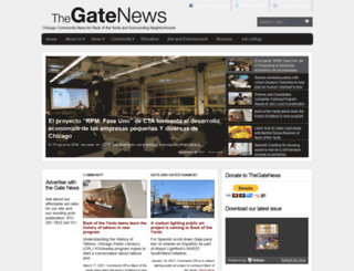 thegatenewspaper.com screenshot