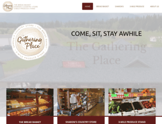 thegatheringplace.info screenshot