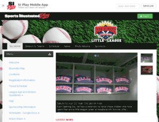 thegeekyboys.sportssignupapp.com screenshot