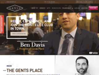 thegentsplace.com screenshot