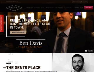 thegentsplace.com screenshot