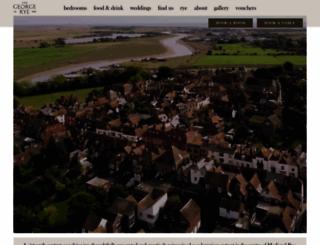 thegeorgeinrye.com screenshot