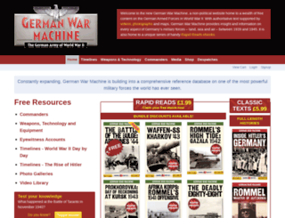 thegermanwarmachine.com screenshot