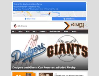 thegiantscove.com screenshot