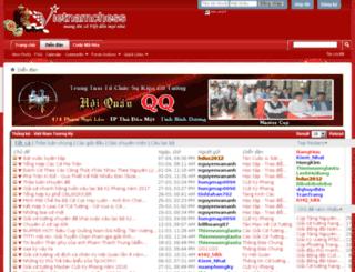 thegioicotuong.vietnamchess.vn screenshot