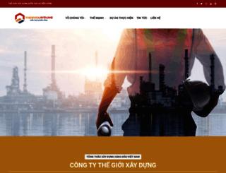 thegioixaydung.com screenshot