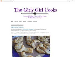 thegirlygirlcooks.blogspot.com screenshot