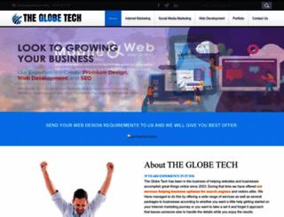 theglobetech.com screenshot