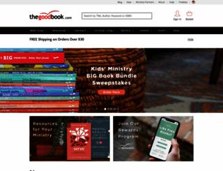 thegoodbook.com screenshot
