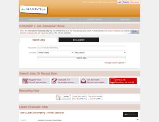 thegraduatejob.com screenshot