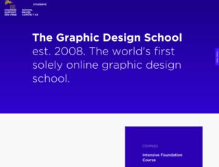 thegraphicdesignschool.com.au screenshot