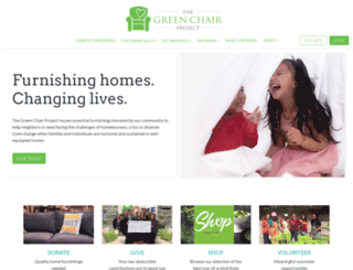 thegreenchair.org screenshot