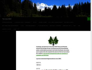 thegreenwolf.com screenshot