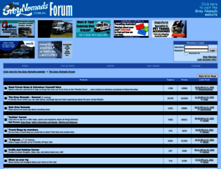 thegreynomads.activeboard.com screenshot