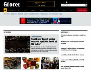 thegrocer.co.uk screenshot