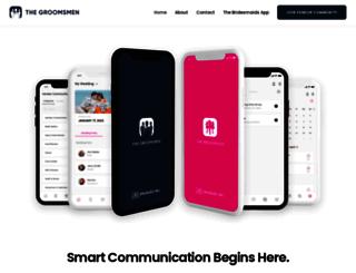 thegroomsmenapp.com screenshot