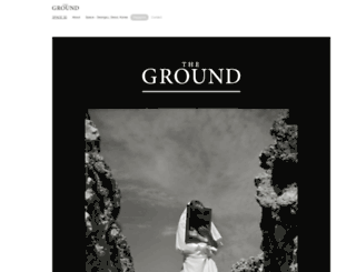 thegroundmag.com screenshot