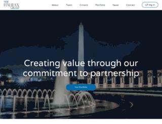 thehalifaxgroup.com screenshot
