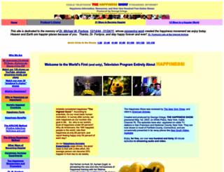 thehappinessshow.com screenshot