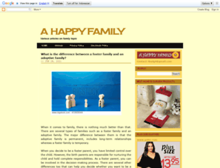 thehappyfamilies.blogspot.com screenshot