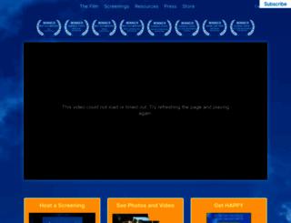 thehappymovie.com screenshot