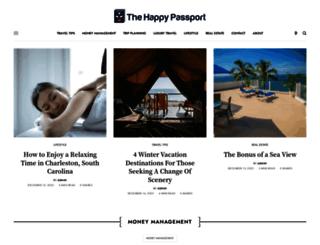 thehappypassport.com screenshot