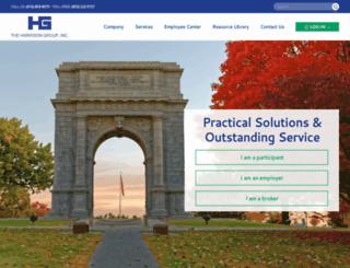 theharrisongrouponline.com screenshot