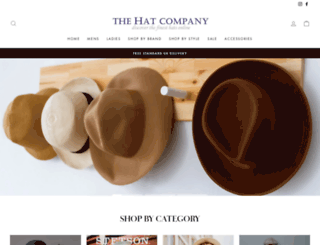 thehatcompany.com screenshot